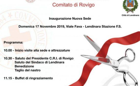 2019- Nuova sede CRI Lendinara